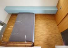 Schlafzimmer mit MDF lackiert, Eiche, Nußbaum