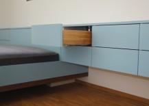 Schlafzimmer Sideboard mit Bettkasten und Schublade