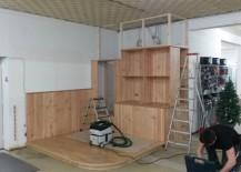 """Möbel & Betonklotz werden """"eingekoffert"""""""