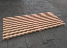 Fußabtreter Holz