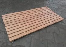 Fussabtreter Lärchenholz