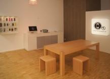 Komplette Ladeneinrichtung eines Handyzubehör und Reparaturservice in Frankfurt