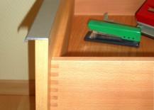 Schreibtischschublade Buche