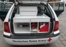 ausbau des first responder Fahrzeuges