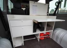 DRK Erzhausen Fahrzeug ausbau